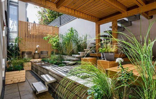 plantas artificiales jardin